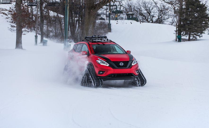 Nissan Murano and Pathfinder Winter Warrior concept - Slide 64