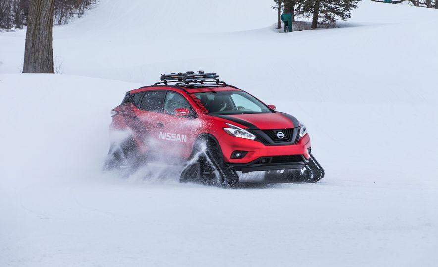 Nissan Murano and Pathfinder Winter Warrior concept - Slide 65