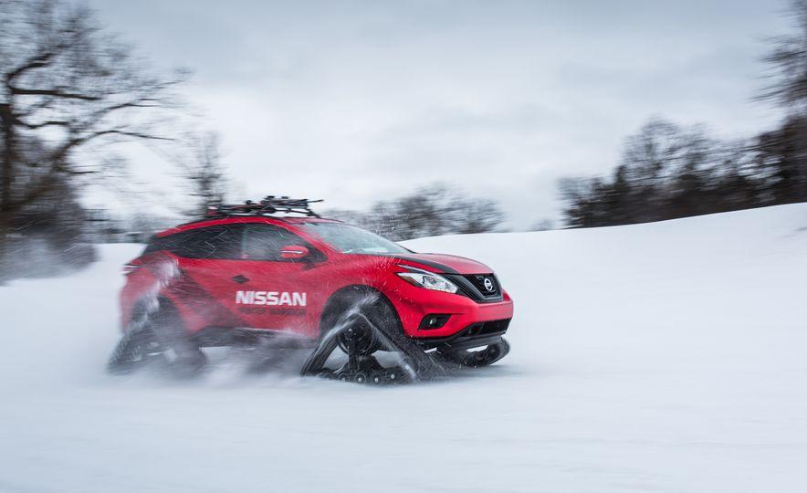 Nissan Murano and Pathfinder Winter Warrior concept - Slide 66