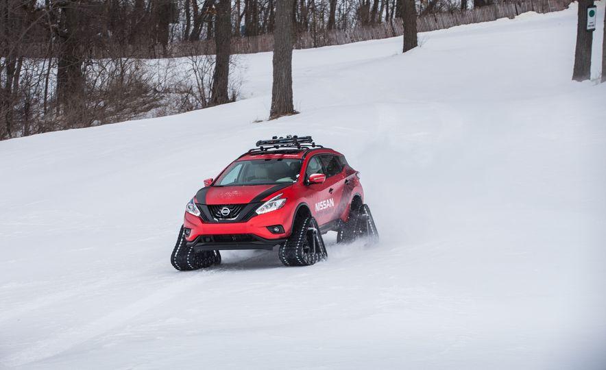 Nissan Murano and Pathfinder Winter Warrior concept - Slide 67