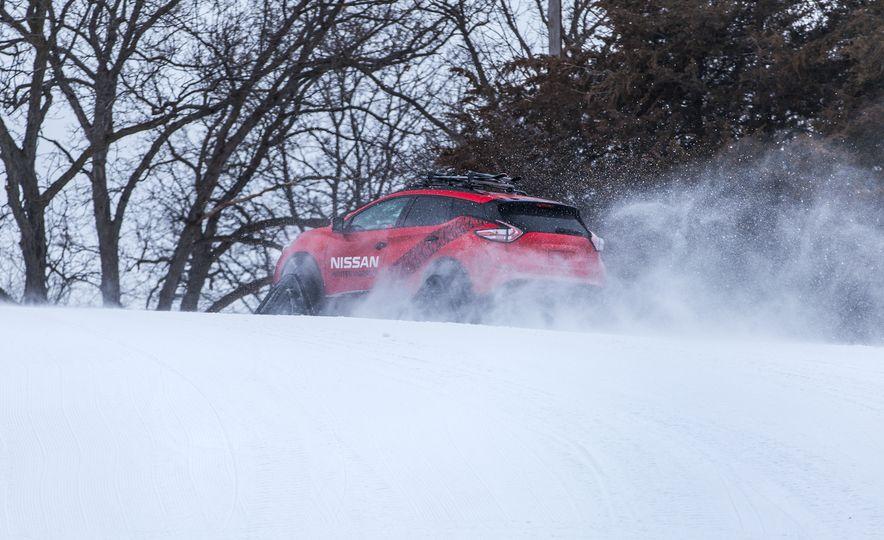 Nissan Murano and Pathfinder Winter Warrior concept - Slide 69