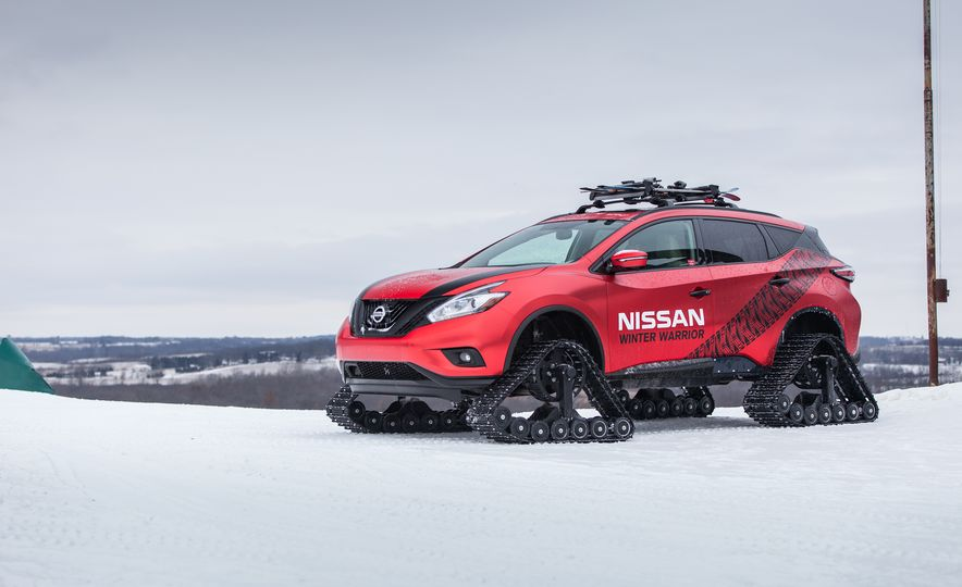 Nissan Murano and Pathfinder Winter Warrior concept - Slide 70