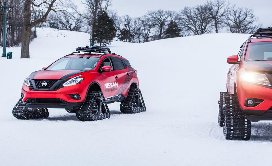Nissan Murano and Pathfinder Winter Warrior concept - Slide 71