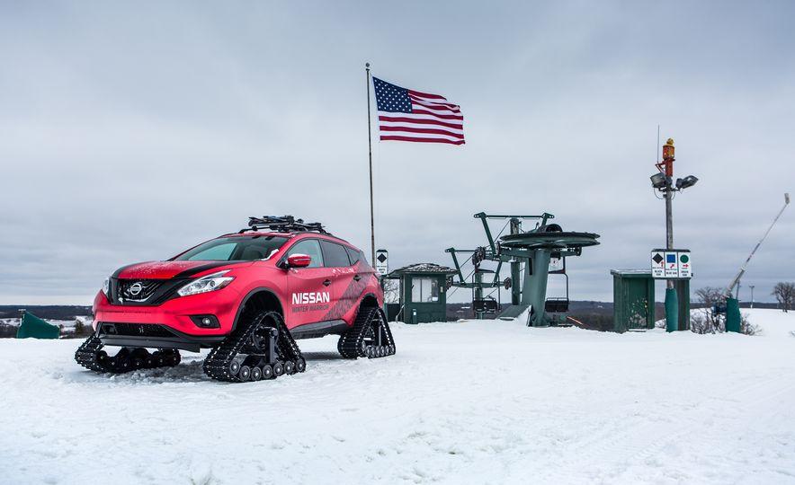Nissan Murano and Pathfinder Winter Warrior concept - Slide 72