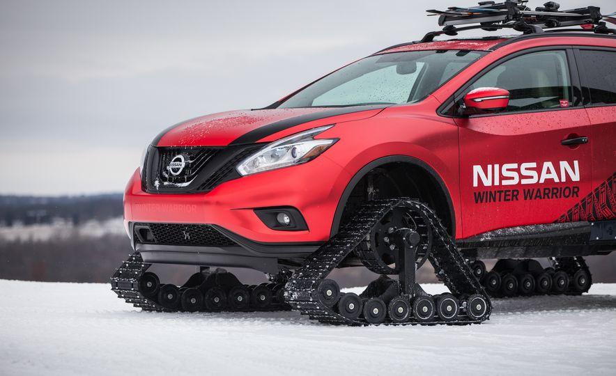 Nissan Murano and Pathfinder Winter Warrior concept - Slide 73