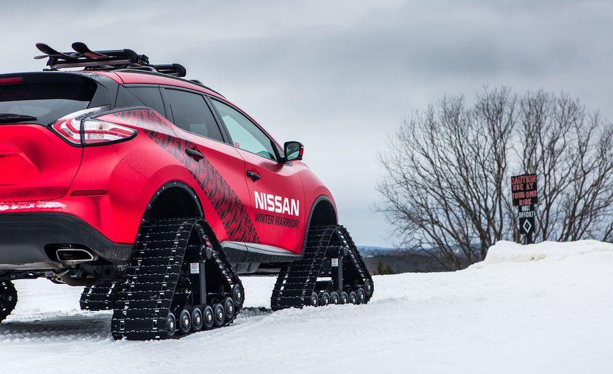 Nissan Murano and Pathfinder Winter Warrior concept - Slide 74