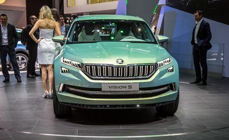 Skoda VisionS Concept Provides Glimpse of VW's Three-Row SUV