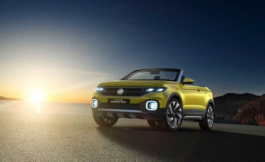 Volkswagen T-Cross Breeze concept - Slide 27