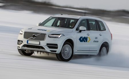 Volvo XC90 T8 e-Twinster Prototype: Call It the e-Drifter
