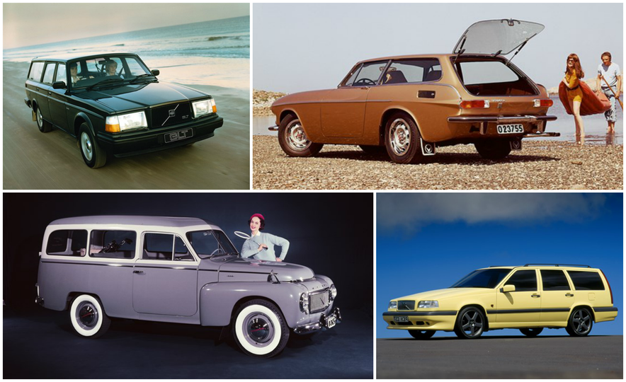 Estate Planning: A Visual History of Volvo Station Wagons - Slide 1