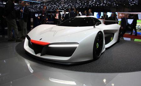 Huffing Gas: Pininfarina to Build 10 Track-Only H2 Speed Fuel-Cell Exotics