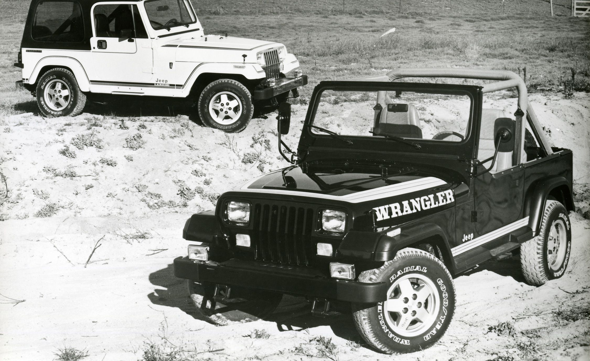 The Complete Visual History Of Jeep Wrangler From 1986 To Present 1945 Willys Engine Diagrams