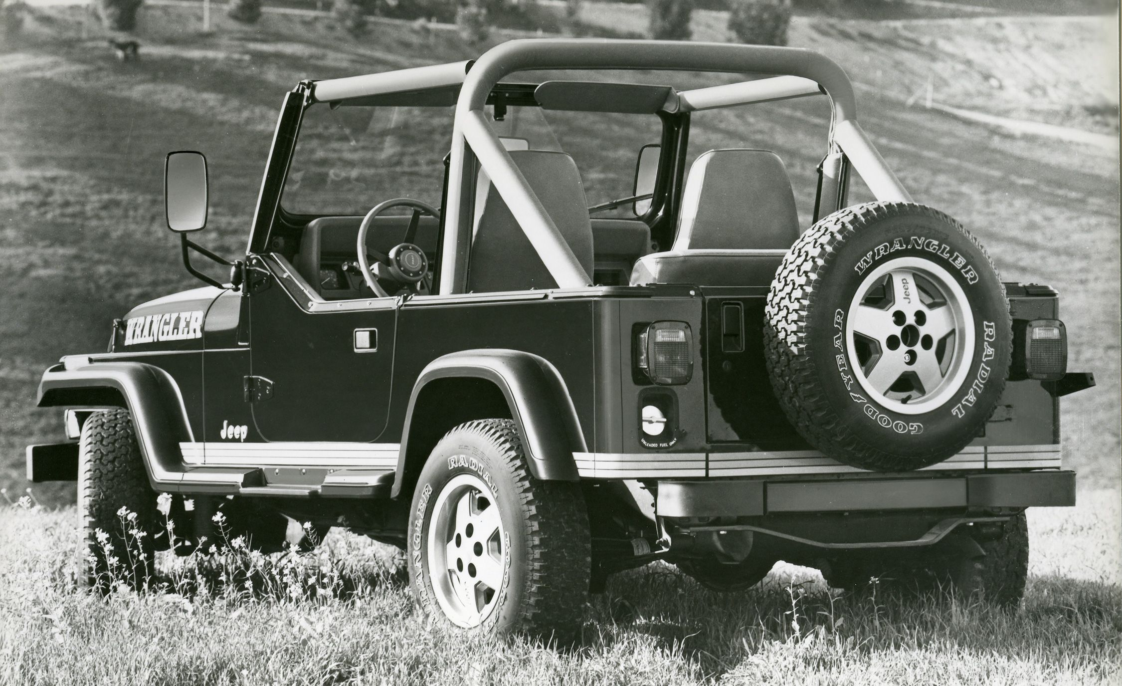The Complete Visual History Of Jeep Wrangler From 1986 To Present Door Latch Diagrams