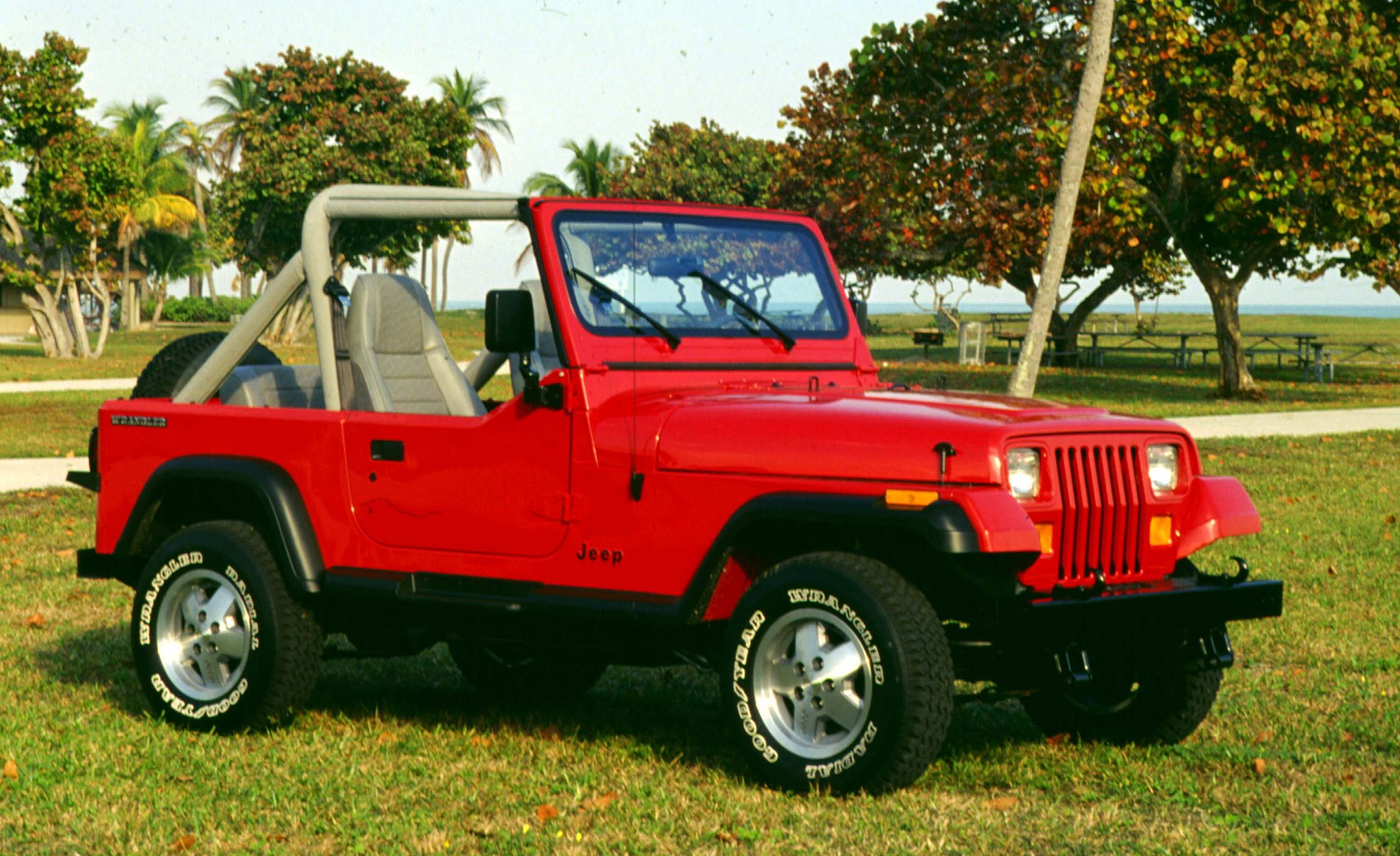 The plete Visual History of the Jeep Wrangler from 1986 to