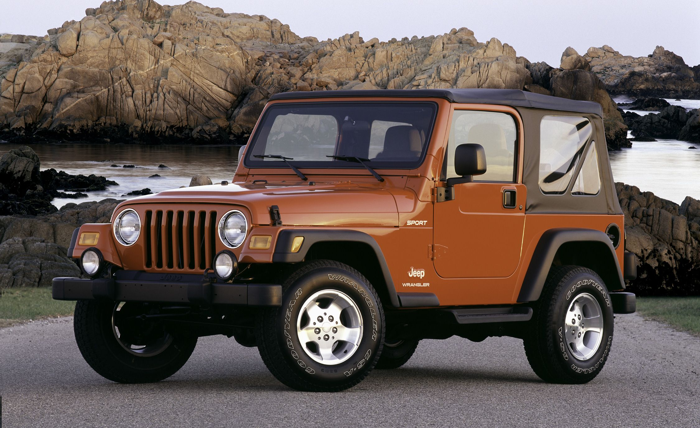 The Complete Visual History Of Jeep Wrangler From 1986 To Present 2003 4 Liter Engine Diagram