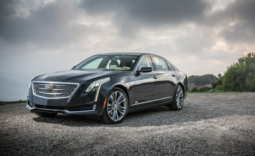 2016 Cadillac CT6 Platinum AWD - Slide 9