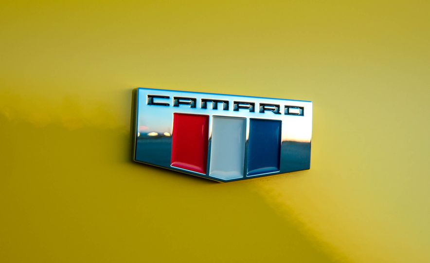 2016 Chevrolet Camaro SS convertible - Slide 25