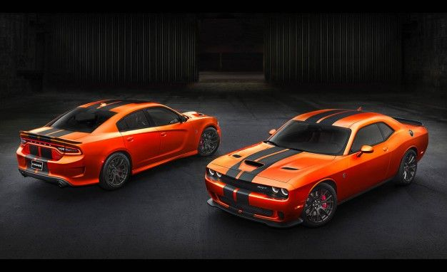 Go Man, Go! Dodge Revives Go Mango Orange Paint Option for SRT Charger, Challenger