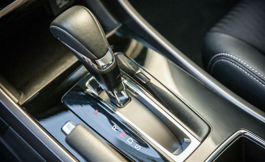 2016 Toyota Camry SE, 2016 Chevrolet Malibu LT, 2016 Honda Accord Sport, and 2016 Mazda 6 i Touring - Slide 34
