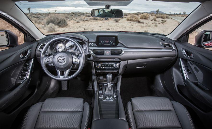2016 Toyota Camry SE, 2016 Chevrolet Malibu LT, 2016 Honda Accord Sport, and 2016 Mazda 6 i Touring - Slide 45
