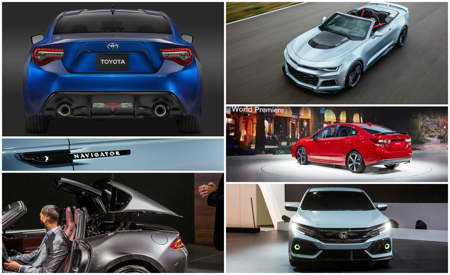 The Most Exciting News, Debuts, and Takeaways from the 2016 New York Auto Show - Slide 1