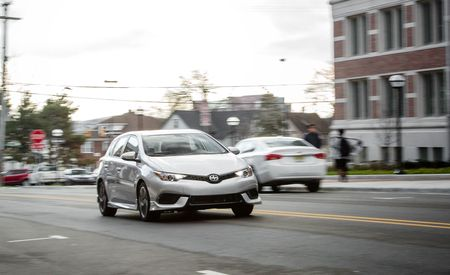2016 Scion iM Automatic – Instrumented Test