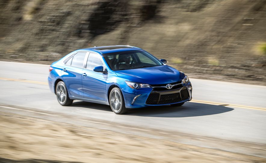2016 Toyota Camry SE, 2016 Chevrolet Malibu LT, 2016 Honda Accord Sport, and 2016 Mazda 6 i Touring - Slide 51