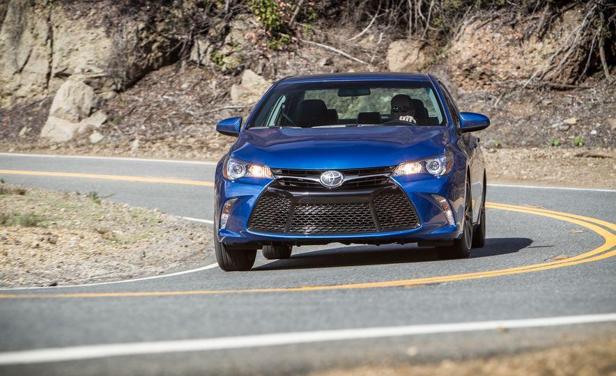 2016 Toyota Camry SE, 2016 Chevrolet Malibu LT, 2016 Honda Accord Sport, and 2016 Mazda 6 i Touring - Slide 54