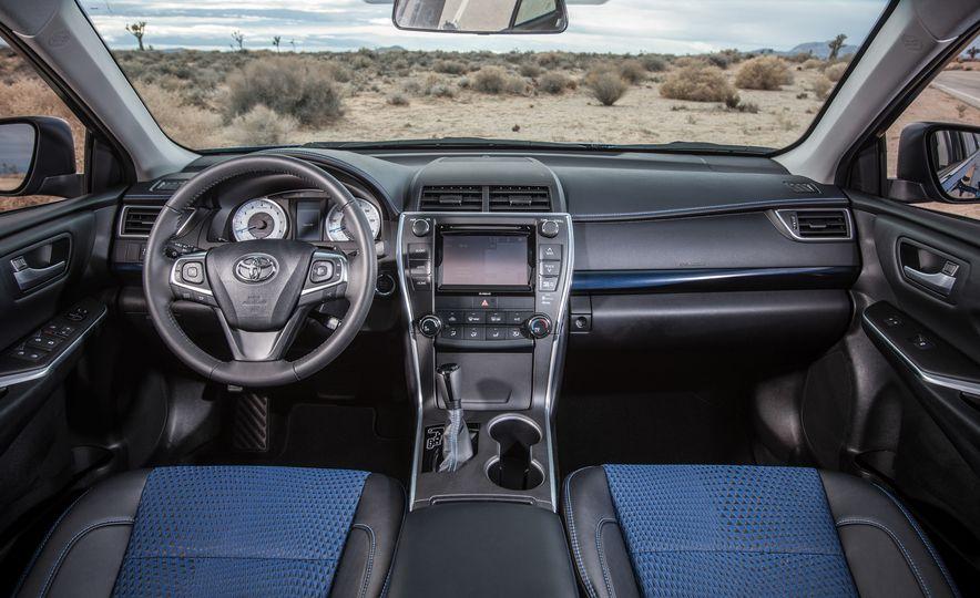 2016 Toyota Camry SE, 2016 Chevrolet Malibu LT, 2016 Honda Accord Sport, and 2016 Mazda 6 i Touring - Slide 59