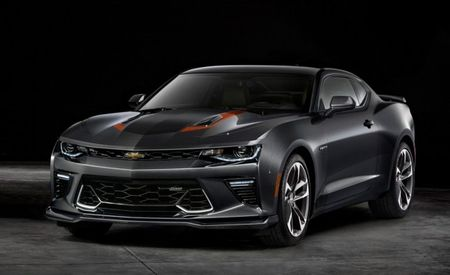 There Is a 50th Anniversary Edition Chevrolet Camaro Because the Camaro Is Now 50 Years Old