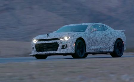 Watch the 2017 Chevrolet Camaro ZL1 Ripping Around All Supercharged and Such