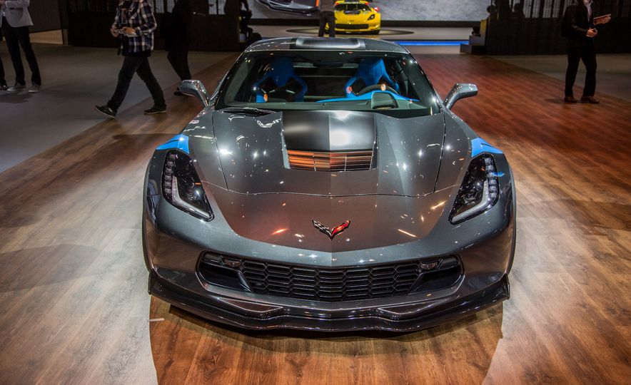 2017 Chevrolet Corvette Grand Sport - Slide 1