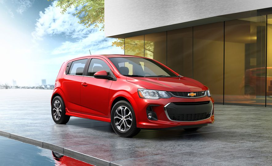 2017 Chevrolet Sonic hatchback - Slide 1