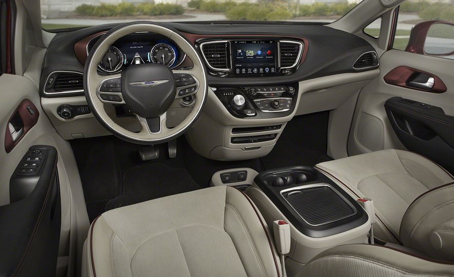 2017 Chrysler Pacifica and Pacifica plug-in hybrid - Slide 50