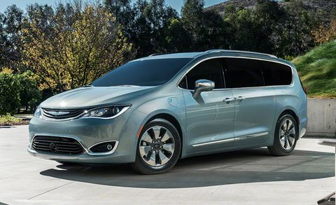 2017 Chrysler Pacifica Placement