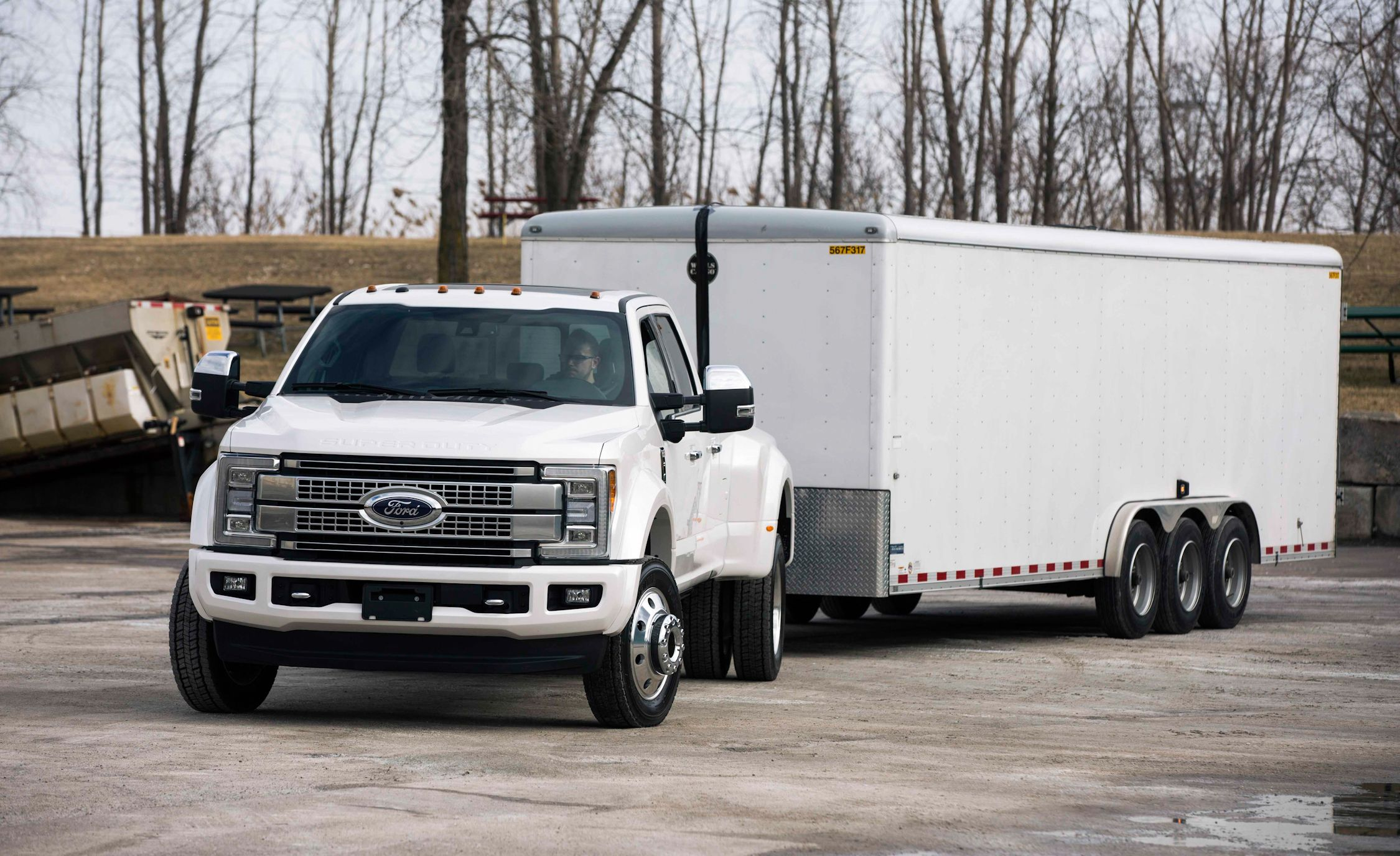 Ford F-series Super Duty Adds \