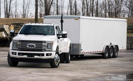 "Back It Up: Ford F-series Super Duty Offers ""Trailer Reverse Guidance"" Camera System"