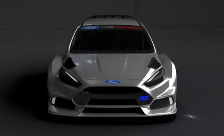 First Look: Ford Focus RS to Compete in 2016 Global Rallycross Season