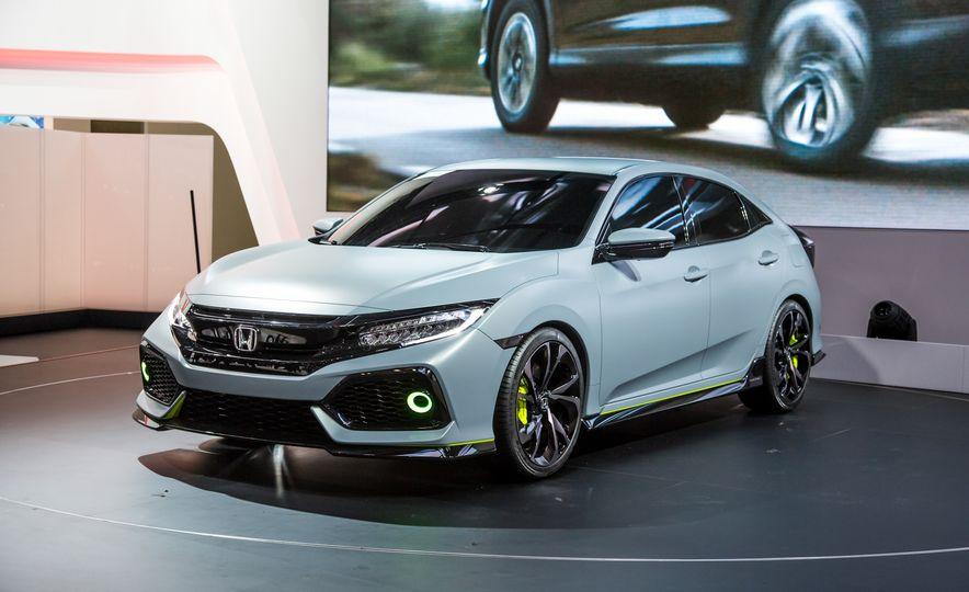 2017 Honda Civic Hatchback Prototype - Slide 4
