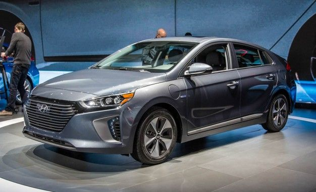 Hyundai Ioniq Hybrid Ev On Sale Q4 2016 Plug In By Q2 2017 News