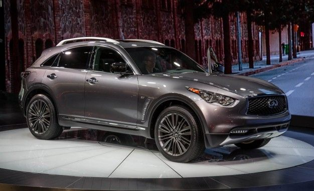 2017 Infiniti QX70 Limited: It's Limited and Stuff!