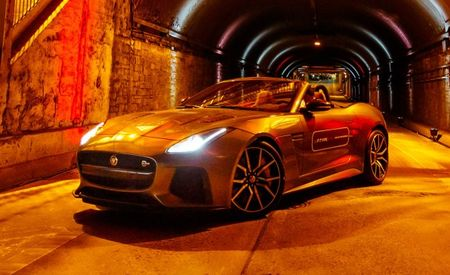Tunnel of Loud: We Assault NY's Park Avenue Tunnel in the 575-hp Jaguar F-type SVR [Video]