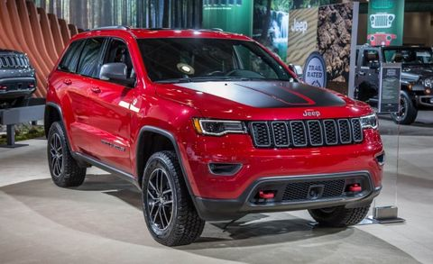 off road focused 2017 jeep grand cherokee trailhawk debuts news