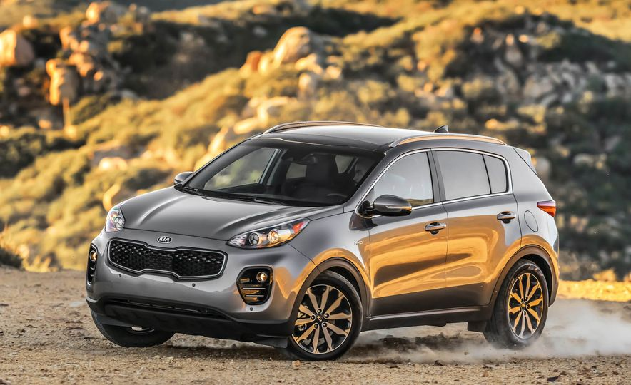 2017 Kia Sportage SX Turbo - Slide 20