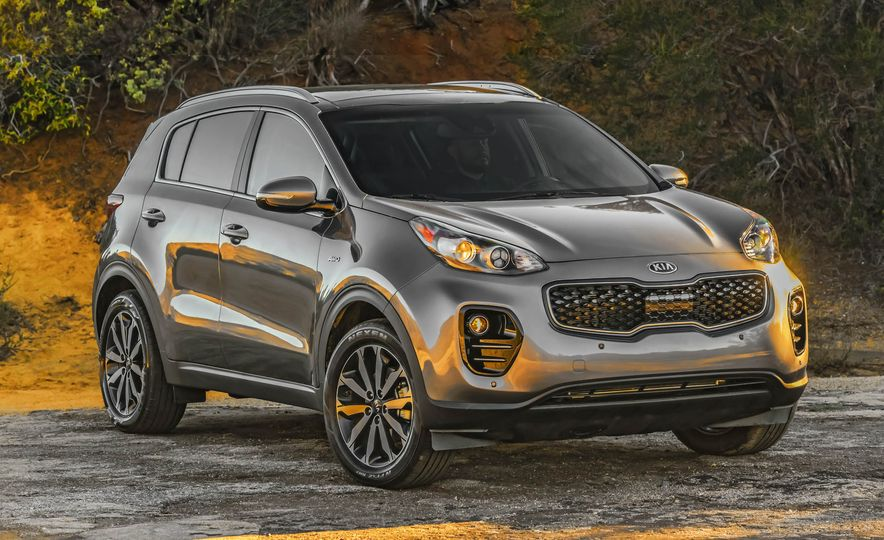 2017 Kia Sportage SX Turbo - Slide 25
