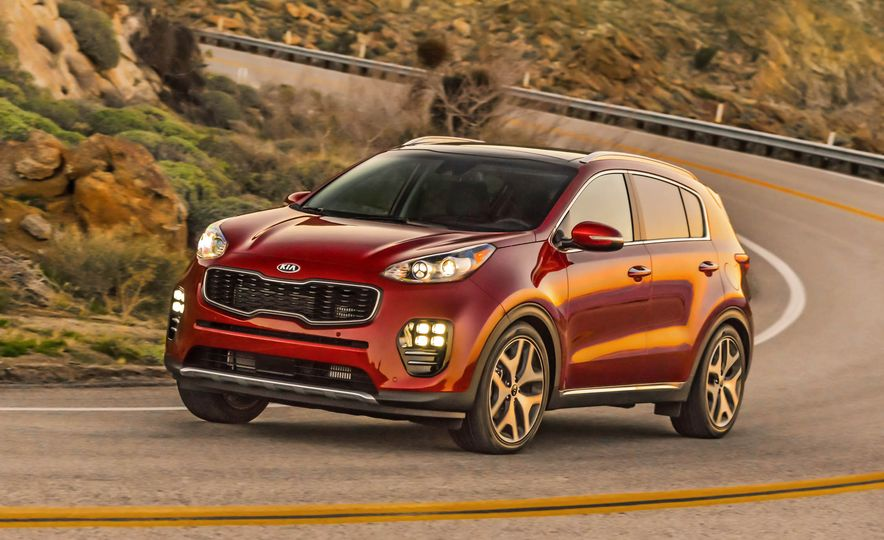 2017 Kia Sportage SX Turbo - Slide 1