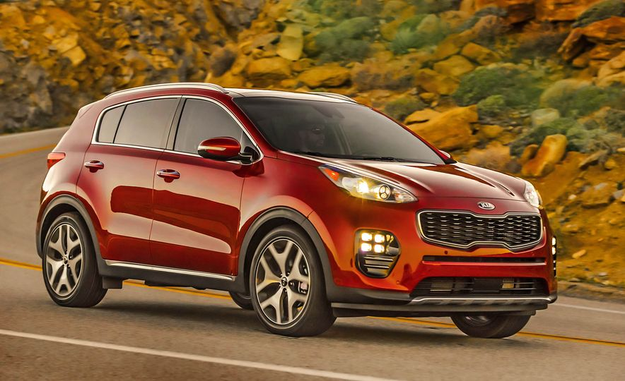 2017 Kia Sportage SX Turbo - Slide 2