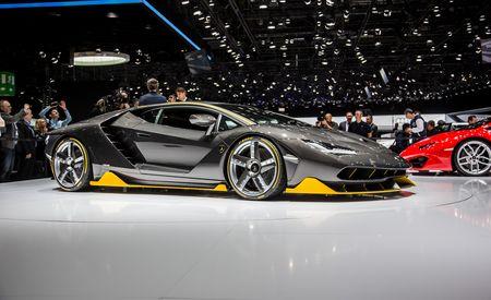 2017 Lamborghini Centenario: The 759-hp Birthday Present – Official Photos and Info