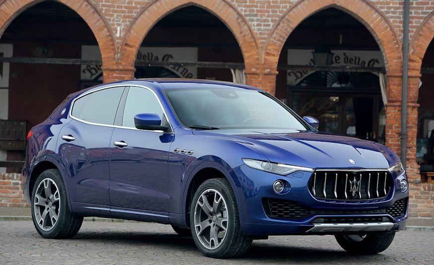 2017 Maserati Levante - Slide 38