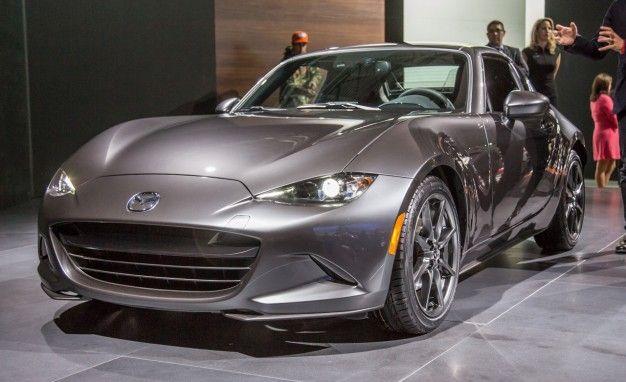 Mazda Miata RF Hardtop Convertible Priced News Car And Driver - Auto show near me